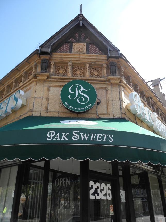 2326 W. Devon.  Pak Sweets and Bakery.